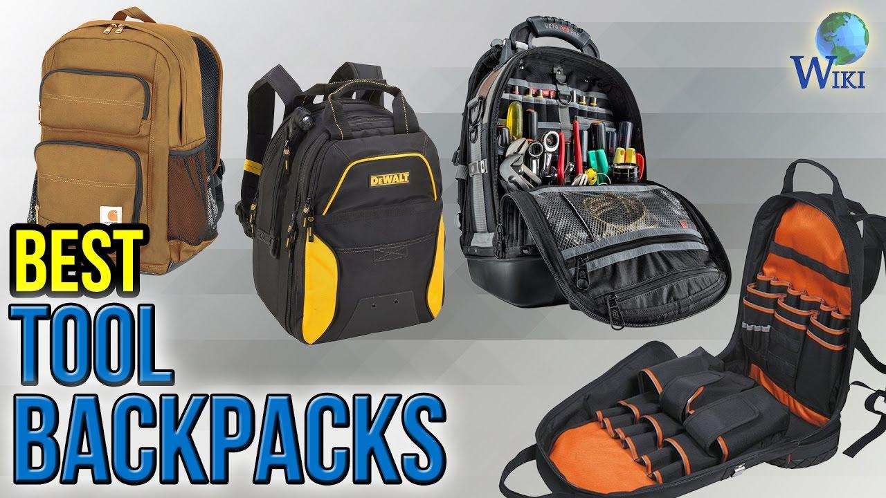 10 Best Tool Backpacks 2017 - YouTube d10ec11b703c0