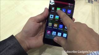 Gionee Ctrl V5 LTE Hands on, Quick Review, Camera, Features and Overview HD at MWC 2014