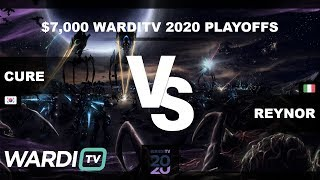 Reynor vs Cure (ZvT) - $7,000 WardiTV 2020 Quarterfinals
