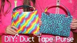 DIY: Duct Tape Purse Tutorial Thumbnail