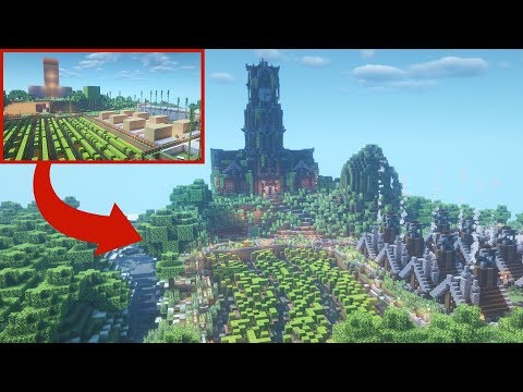 Transforming LazarBeam's Minecraft Base - YouTube