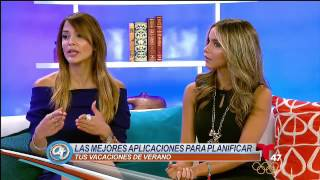 Rosa Alonso: Apps para Vacaciones / Vacation Apps, Acceso Total NY, Telemundo 47 Free HD Video