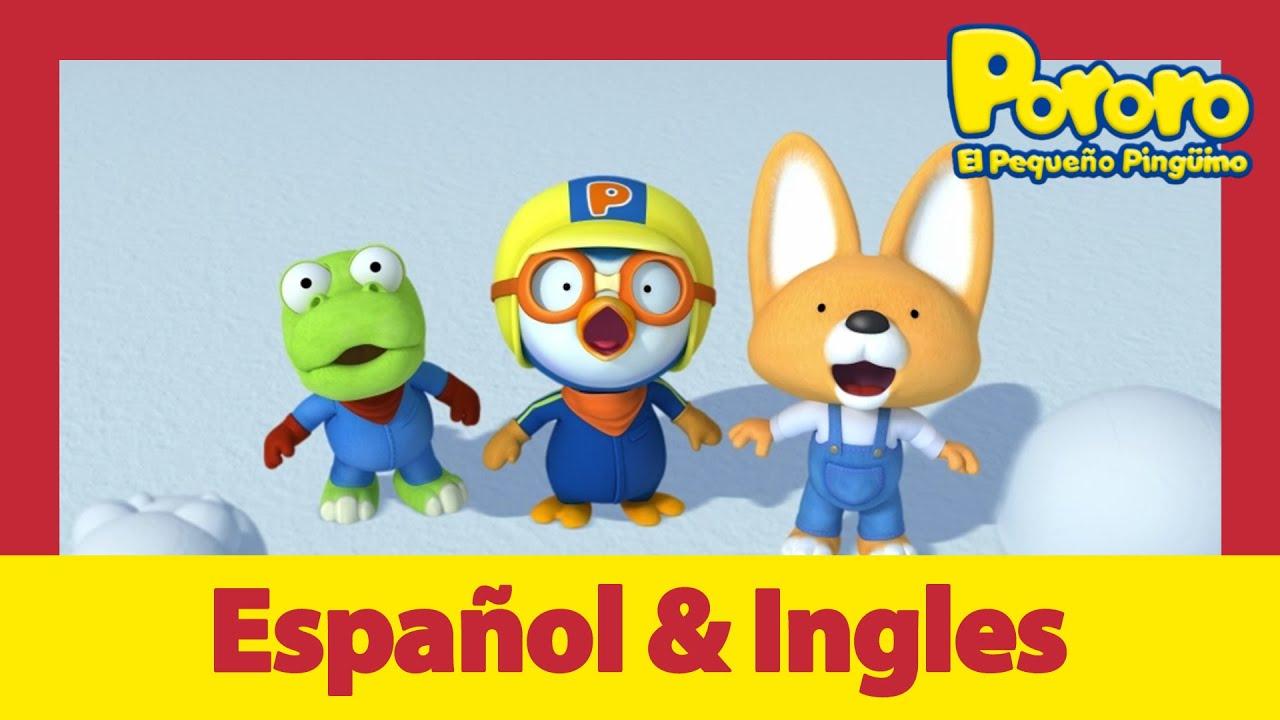 Aprende inglés fácil y divertido con Pororo |  ¡Poby, sé ágil! | Pororo S04 E09
