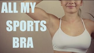 ALL MY SPORTS BRA - TRY ON