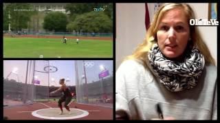 Jennifer Dahlgren cuenta lo que es el Lanzamiento de Martillo
