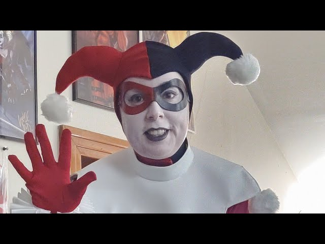 [DIY] Classic Harley Quinn from Batman: The Animated Series