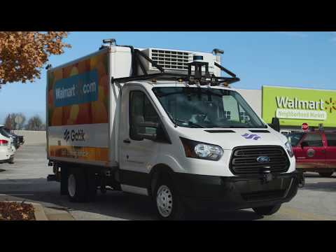Gatik Operations with Walmart