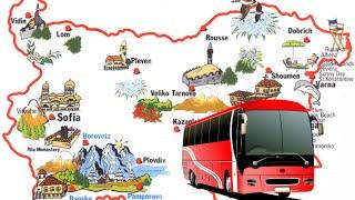 видео Автобусы в Болгарию