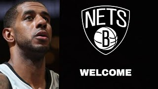Lamarcus Aldridge Highlights | Welcome To Brooklyn Nets