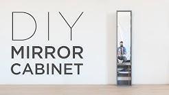 DIY Mirror Cabinet
