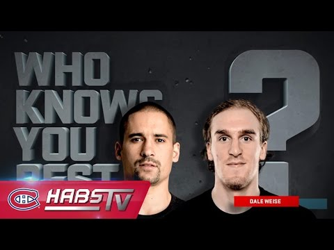 Who Knows You Best? Plekanec vs. Weise