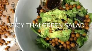 SPICY THAI GREEN SALAD!!!