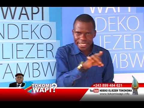 TOKOMI WAPI 24 12 2018 NDEKO ELIEZER AZONGI