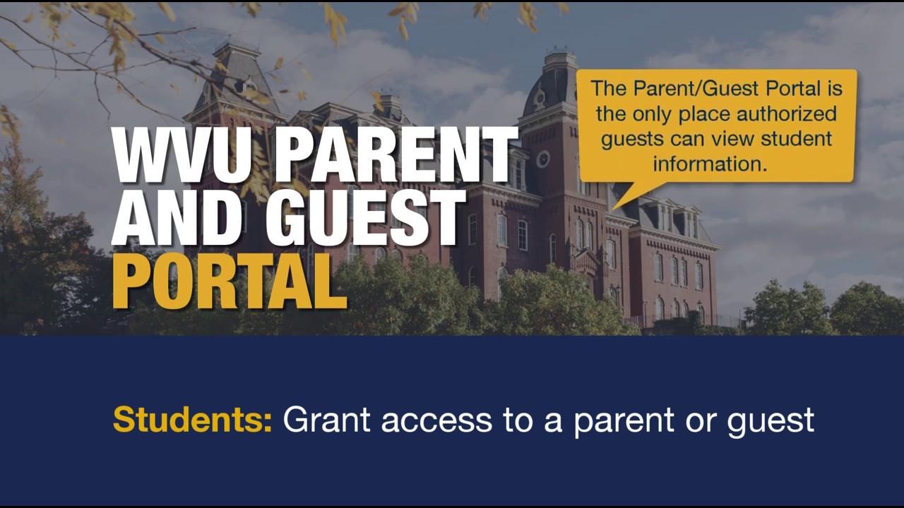 Home   WVU Parent/Guest Portal   West Virginia University