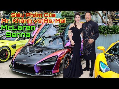 [P1] Siêu Phẩm MCLAREN SENNA Của Doanh Nhân Hoàng Kim Khánh vs Ms.Mailisa