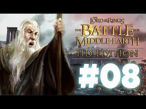 Osgiliath Burns! Apparently. BFME1 HD Edition - Episode 8