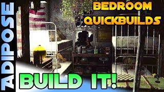 Fallout 4 - Bunk Bedroom Quickbuild - BUILD IT 4