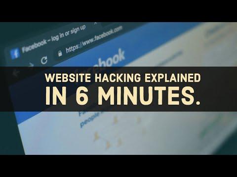 Website Hacking in 6 Minutes
