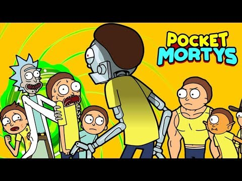 ¿UN POKÉMON DE RICK Y MORTY? ⭐️ Pocket Mortys | iTownGamePlay