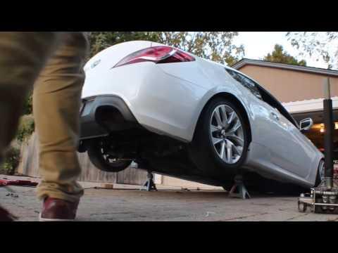 Easy Genesis Coupe Exhaust Mod
