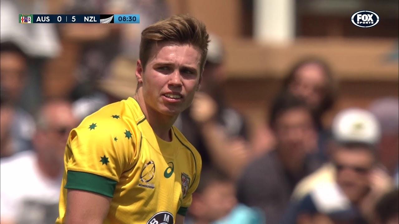 Full replay: 2017 Australia Schools vs New Zealand Schools
