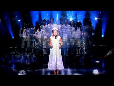 JACKIE EVANCHO SINGING FROM PARADISE HD - AVE MARIA GOUNOD ON BACH'S