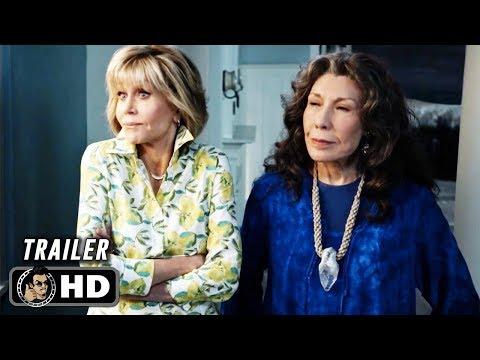 GRACE AND FRANKIE Season 5 Official Trailer (HD) Jane Fonda Series