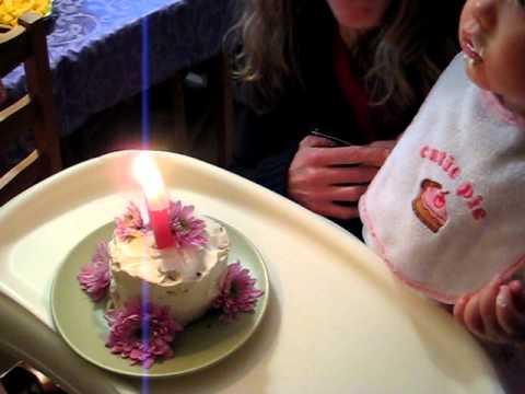 1st Birthday–the cake.