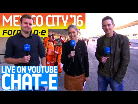Chat-E Fan Show LIVE From Mexico City! - Formula E