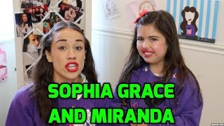 Sophia Grace Voice Lesson!