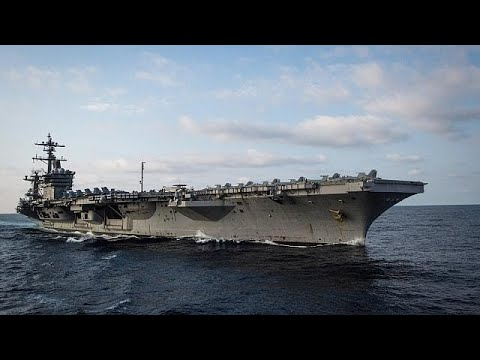 USS Carl Vinson arrives in Vietnam