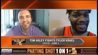 Undefeated 185er Tim Hiley talks LFA 41, Video Games & Potential Jump To DWTNCS