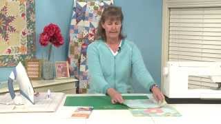Adding Applique To Pieced Quilts: Posy-go-round Block