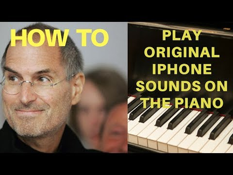 How to Play Original iPhone Sounds and Ringtones on the Piano