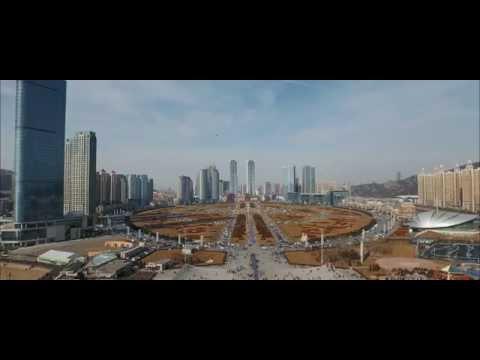 DJI INSPIRE1 Dalian, Xinghai Square