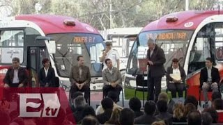 Inaugura Peña Nieto Línea 2 del Mexibús / Excélsior Informa