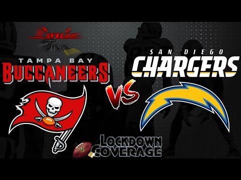 NFL Football 2016 Recap: Buccaneers vs. Chargers (Week 13) (Lockdown Coverage)  #LouieTeeLive