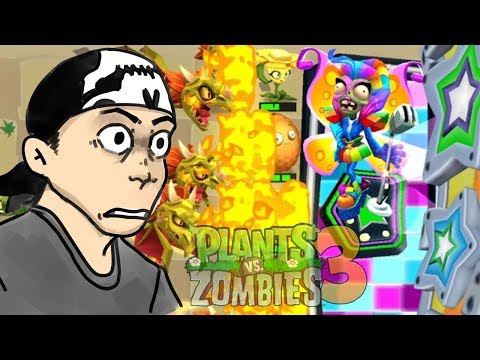 ЗАЖЕГ НА ДИСКОТЕКЕ С ЗОМБИ ► Plants vs. Zombies 3 #10 ПвЗ 3 | PvZ 3