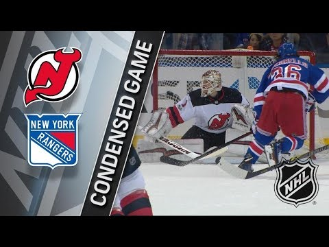 New Jersey Devils vs New York Rangers – Dec. 09, 2017 | Game Highlights | NHL 2017/18. Обзор матча