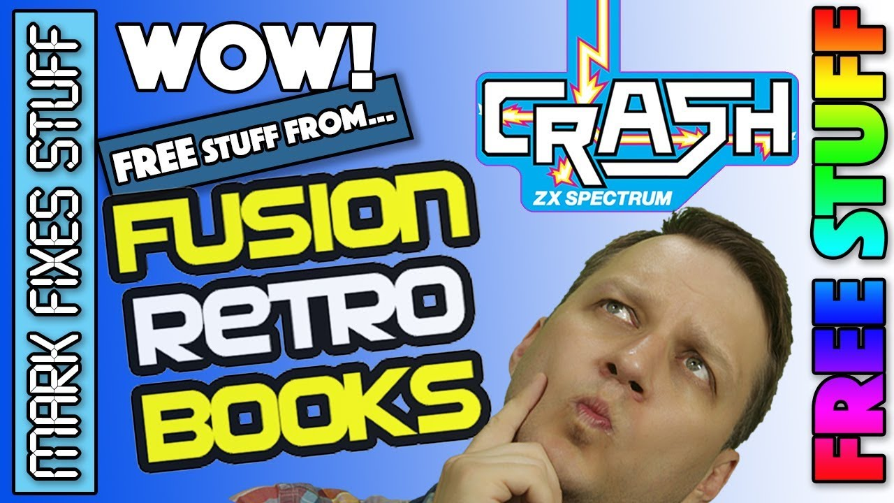 Amazing Free Stuff from Fusion Retro Books! New Retro gaming magazine and  annual!