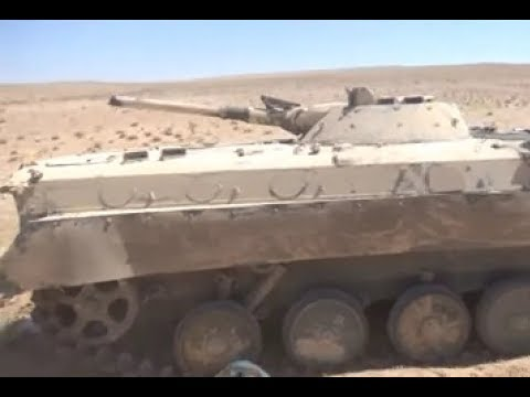 Road to Deir ez-Zor, after the battle | September 2017