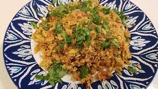 Egg bhurji (Indian scrambled eggs)