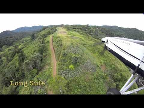 Pilatus PC-6 Porter - Bush flying over the Borneo jungle