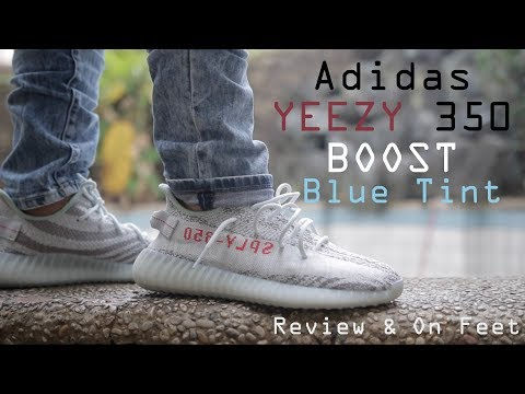 """Adidas Yeezy 350 Boost v2 """"Blue Tint"""" Review & On Feet"""