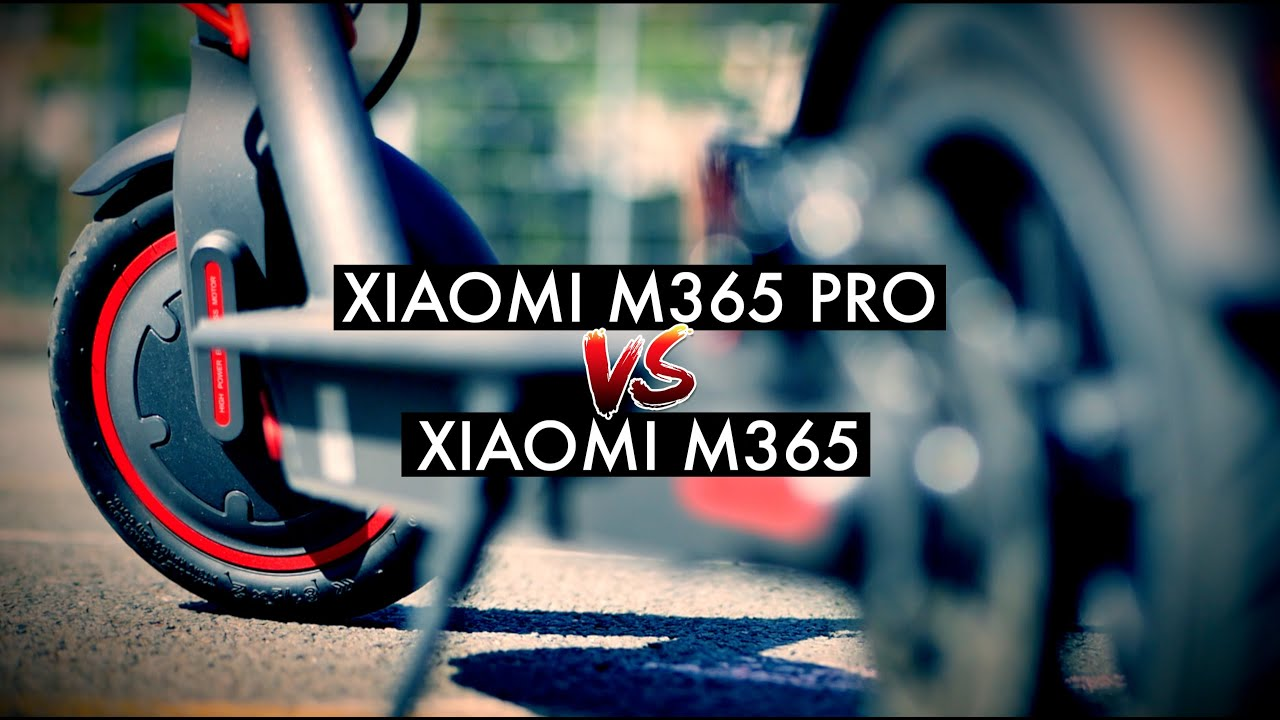 Xiaomi Scooter PRO vs Xiaomi M365 - Comparison Review | elProducente