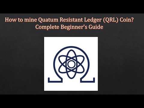 QRL Quantum Resistant Ledger coin