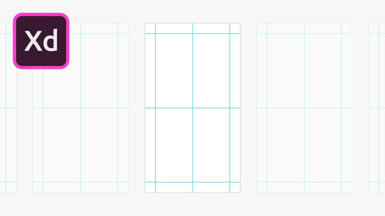 adobe xd grids and guides