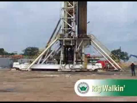 Forest Oil Corporation Rig Walking