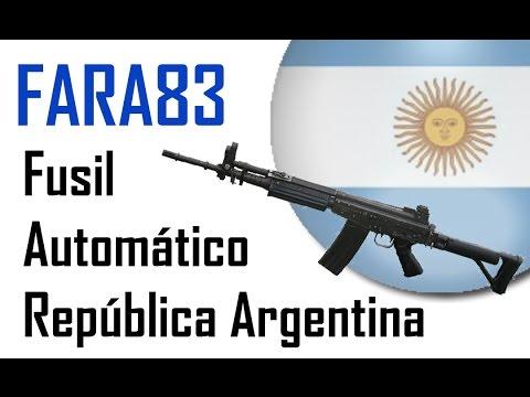 """FARA83 """"Fusil Automatico Republica Argentina"""""""
