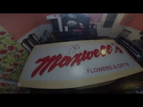 Vinyl Cutting Outdoor Business Sign